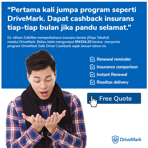 Online roadtax and car insurance/takaful renewal